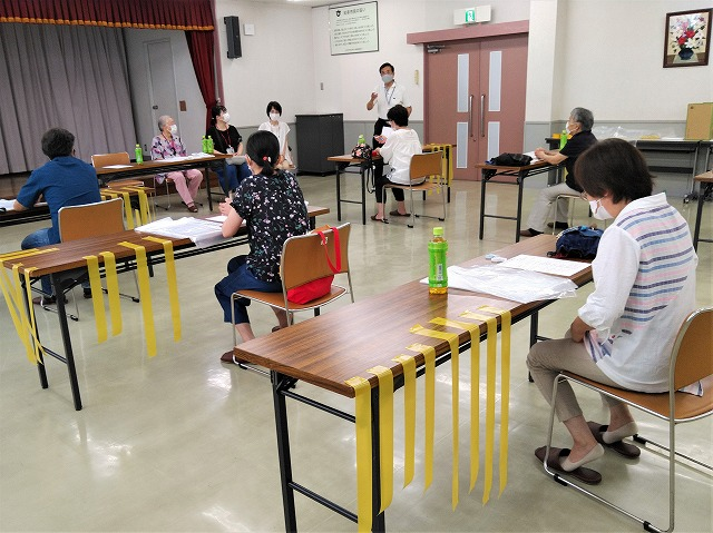 防災研修会(コロナ対応)の報告
